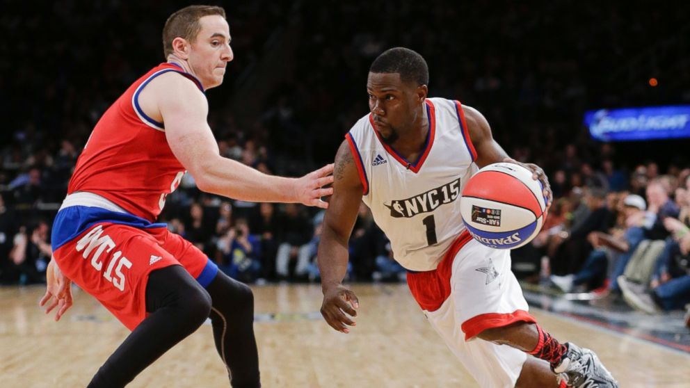 Kevin Hart Steals The Show At Nba All Star Celebrity Game Abc News