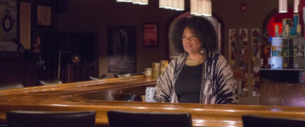 """PHOTO: This image released by OWN shows Oprah Winfrey as Mavis McCready in a scene from the original series, """"Greenleaf."""""""