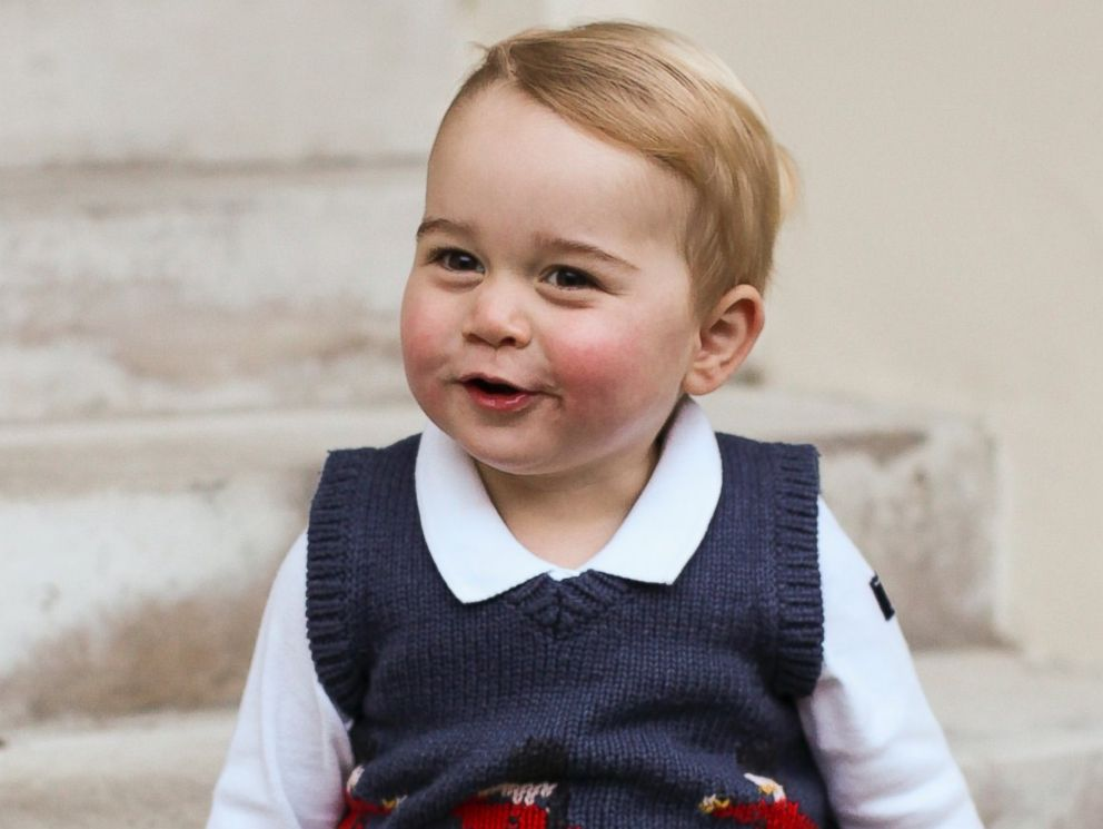Pictures of prince williams son Prince Louis s Christening Portraits vs. Prince George s and