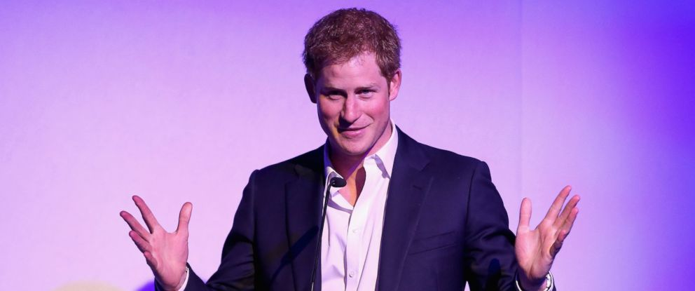 PHOTO: Britains Prince Harry delivers a speech, at the Sentebale Summer Party, in London, May 7, 2014.