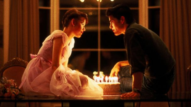 PHOTO: Molly Ringwald, Left, And Michael Schoeffling Are Shown In A Scene  From