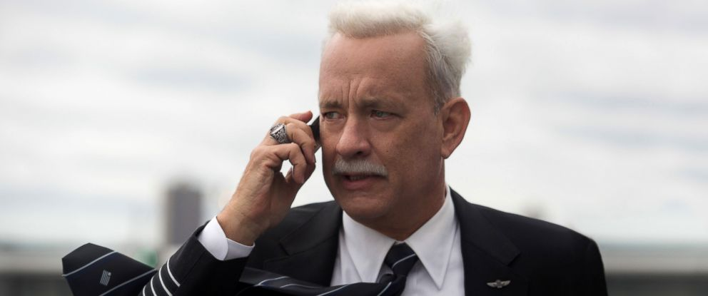 "PHOTO: Tom Hanks in a scene from the film, ""Sully."""