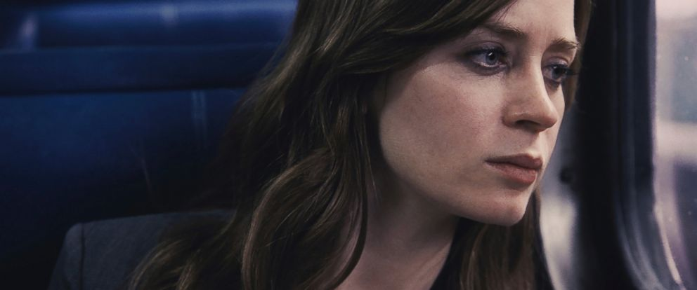"PHOTO: Emily Blunt appears in a scene from ""The Girl on the Train"" in this file image released by Universal Pictures."