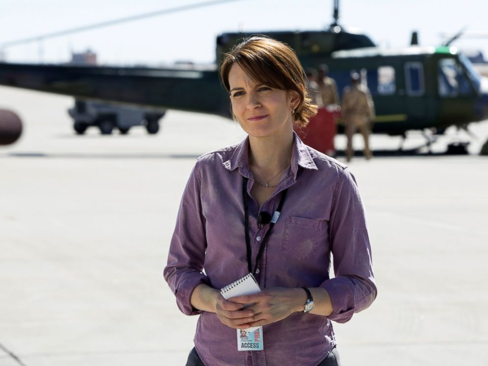 PHOTO: Tina Fey portrays Kim Baker in a scene from Whiskey Tango Foxtrot.