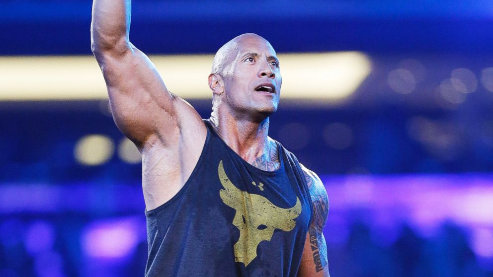 Dwayne 'The Rock' Johnson Breaks WWE Records at WrestleMania 32 - ABC News