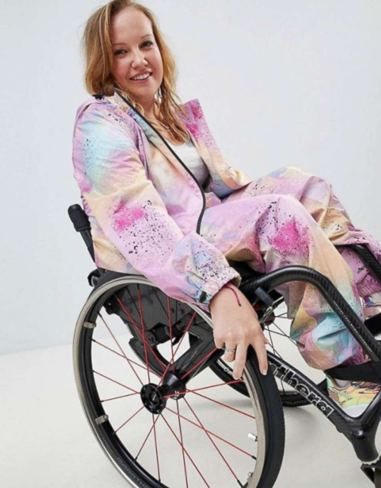 PHOTO: ASOS DESIGN tie dye all in one jumpsuit