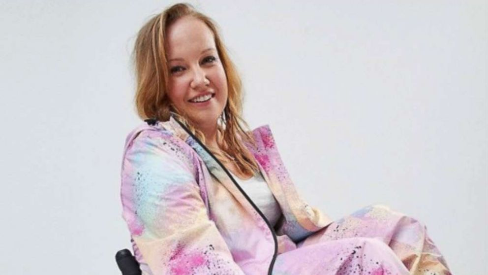 03e1ee3263a ASOS introduces a  wheelchair-friendly  jumpsuit - ABC News