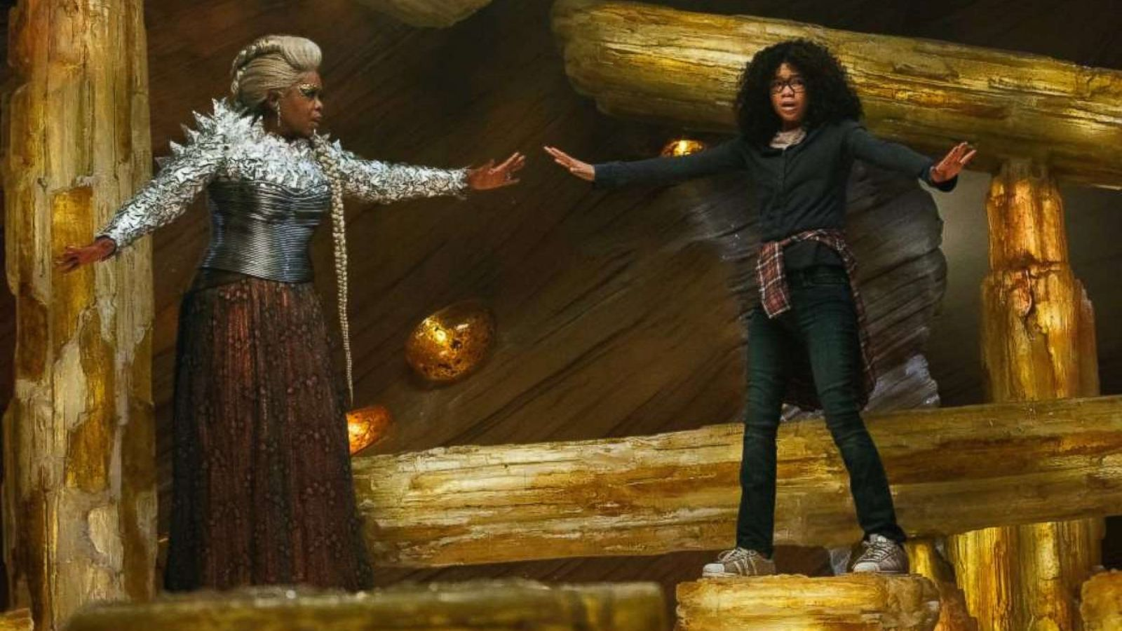 A Wrinkle In Time Star Storm Reid On Working With Oprah Winfrey