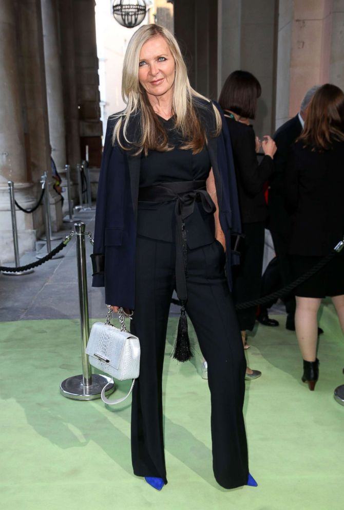 PHOTO: Fashion designer Amanda Wakeley attends and event at The New Royal Academy of Arts in London, May 15, 2018.