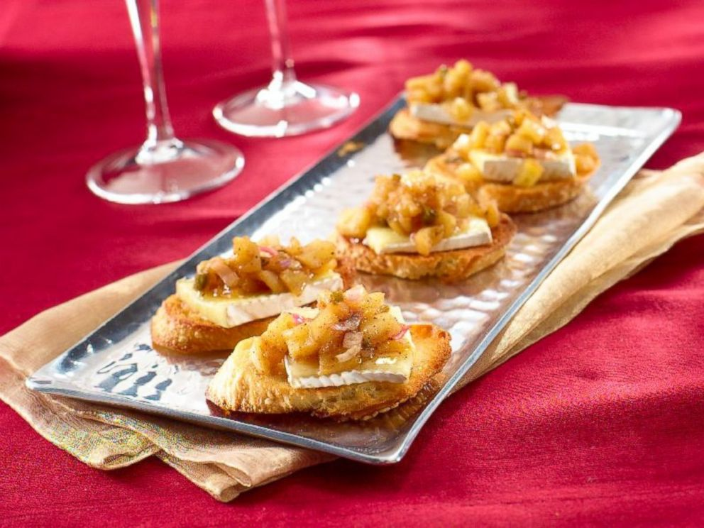 PHOTO: Brie and Chutney Toast a la Paris, created by Katie Lee on behalf of I Cant Believe Its Not Butter!