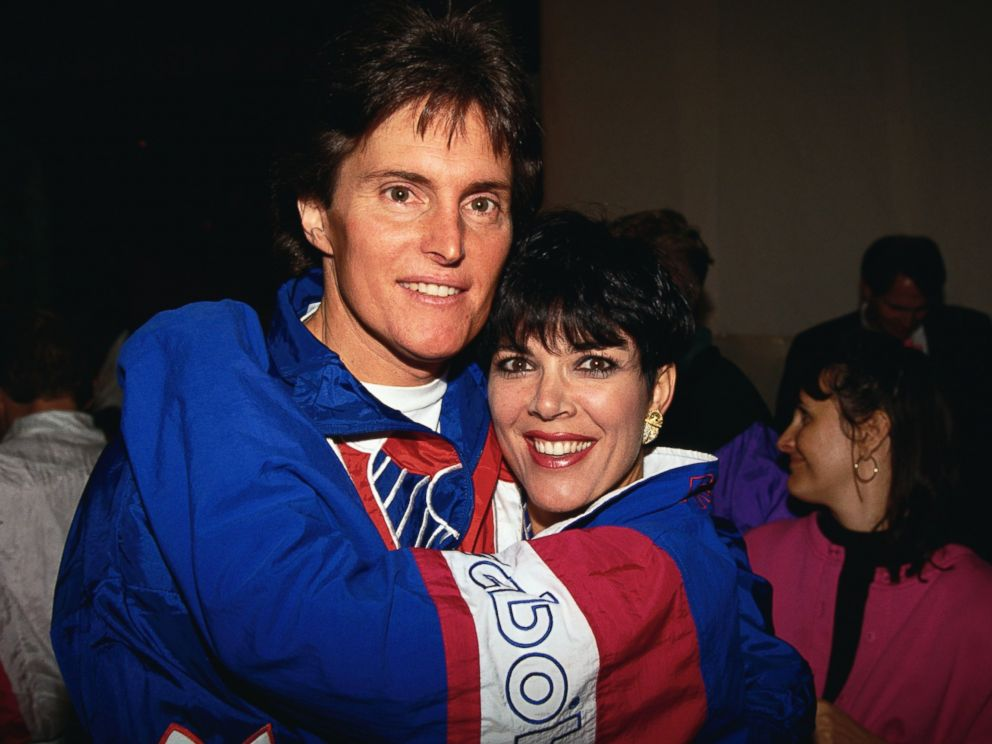 PHOTO: Bruce Jenner and Kris Jenner are seen in this Feb. 24, 1993 file photo during a Presidents Council on Physical Fitness and Sports event.