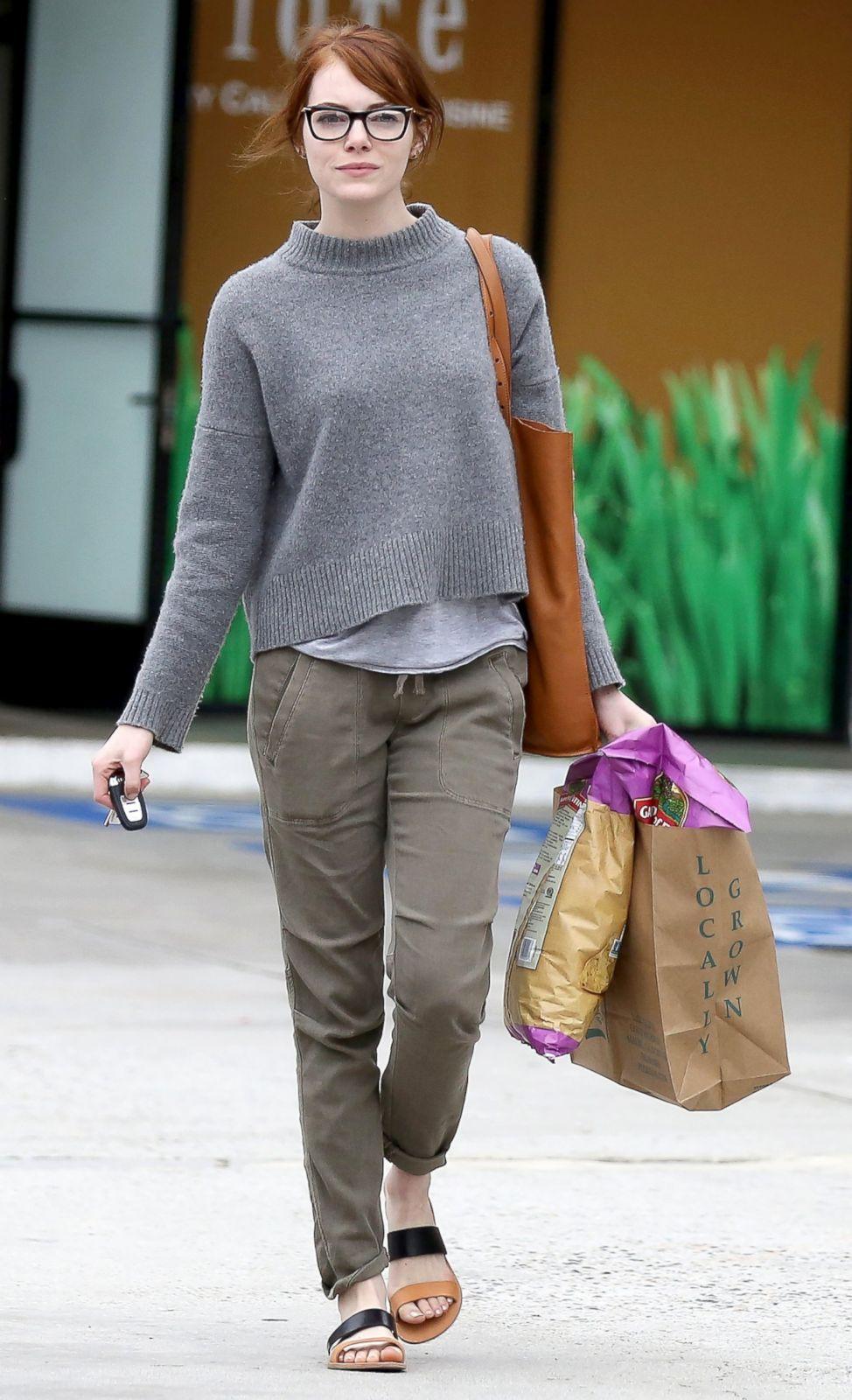 Emma Stone 2015 Street Style