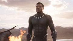 "PHOTO: Chadwick Boseman in ""Black Panther."""