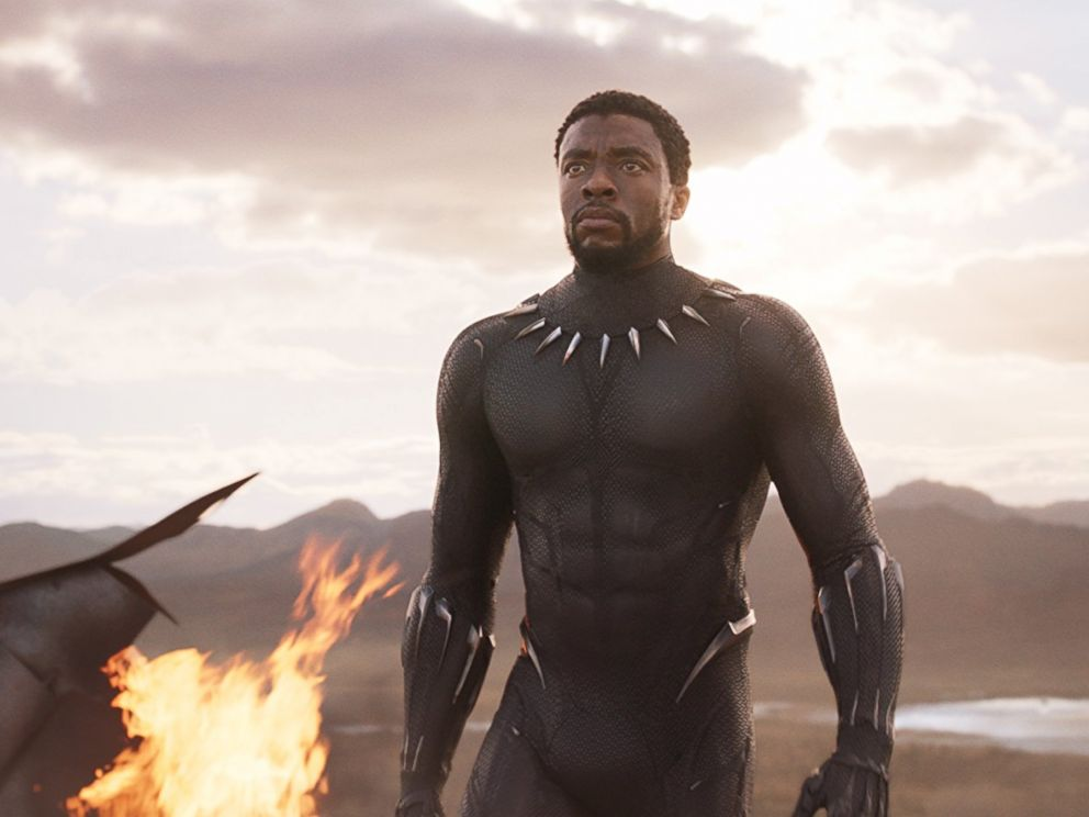 PHOTO: Chadwick Boseman in Black Panther (2018).