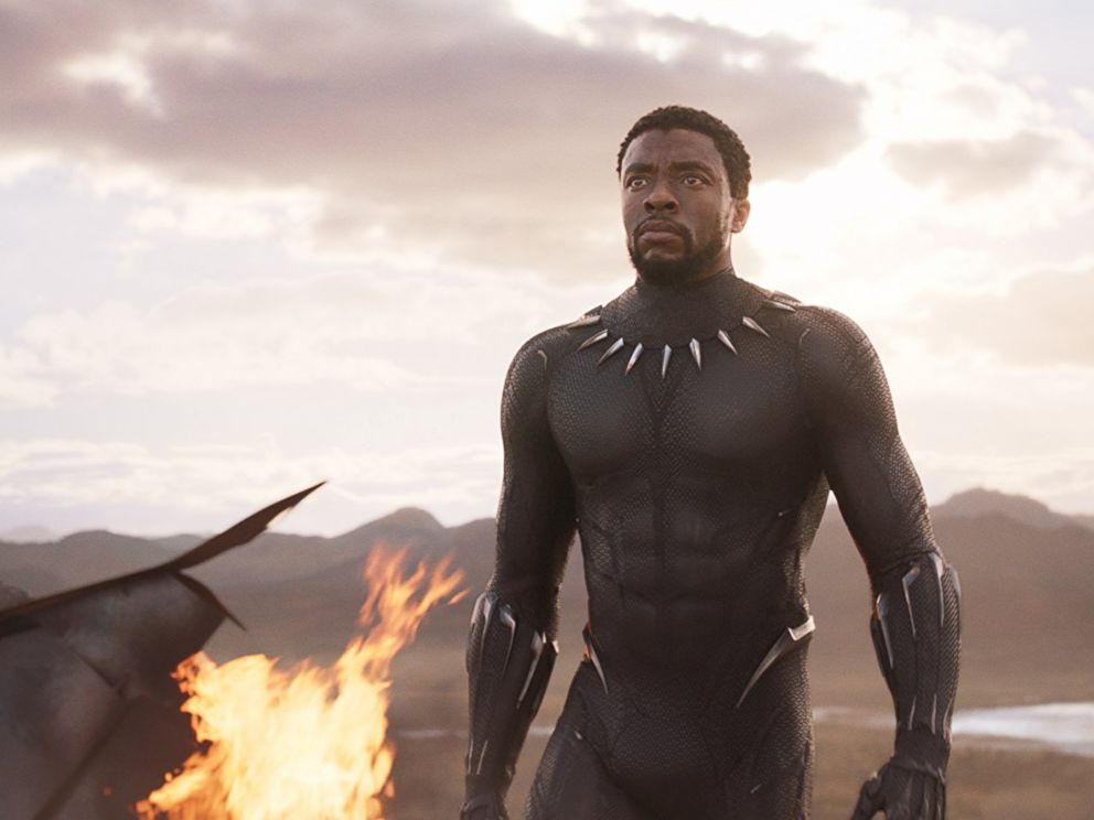PHOTO: Chadwick Boseman in a scene from Black Panther.