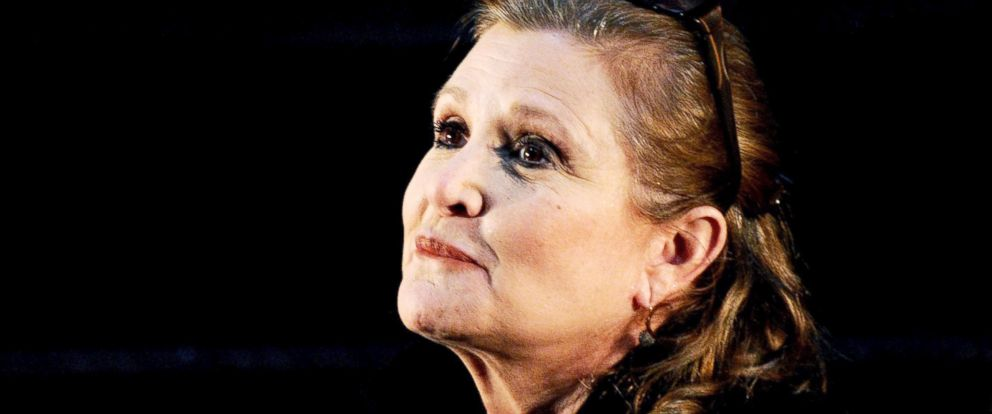 PHOTO: Carrie Fisher at the Supanova Pop Culture Expo at Homebush in Sydney, Australia.