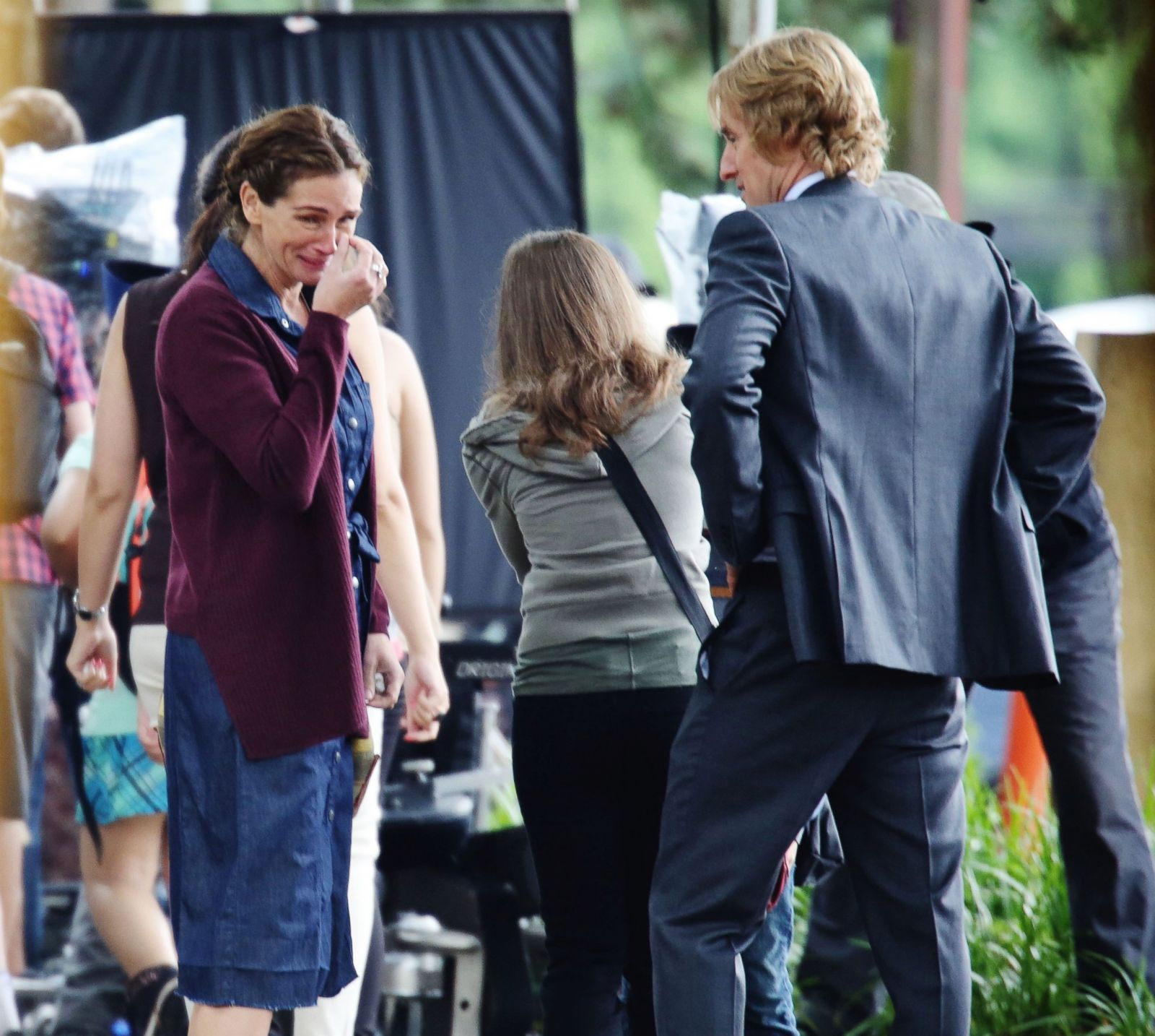 Go On The Set Of Julia Roberts And Owen Wilsons New Film Picture