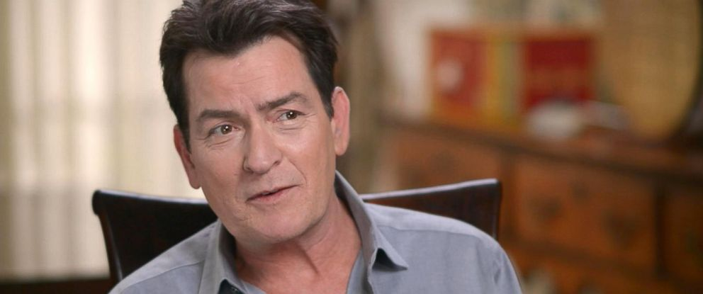 """PHOTO: Charlie Sheen discussed his return to movie making with """"Mad Families,"""" his life today and his health in an interview with ABC News Michael Strahan for """"Good Morning America."""""""