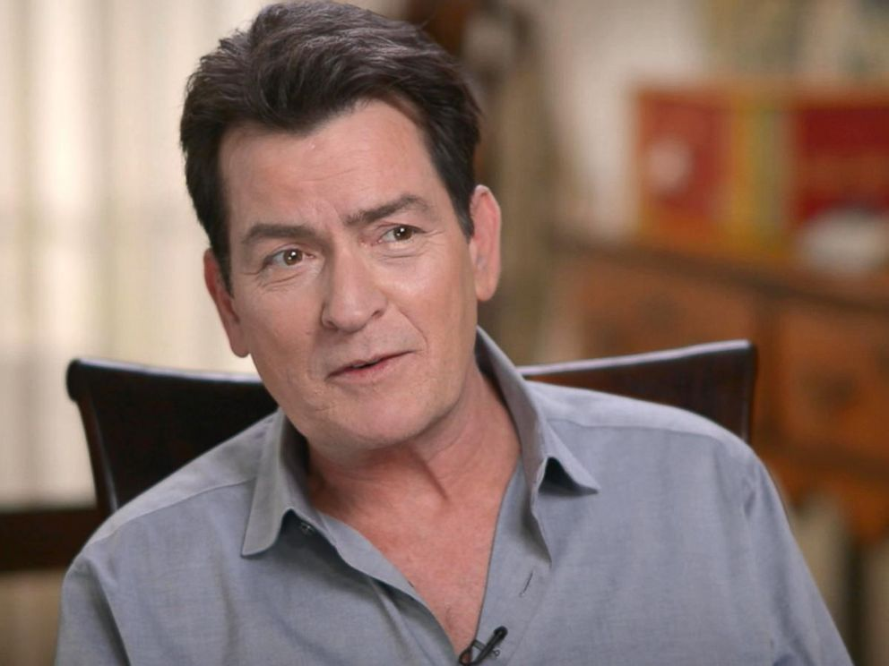 PHOTO: Charlie Sheen discussed his return to movie making with Mad Families, his life today and his health in an interview with ABC News Michael Strahan for Good Morning America.