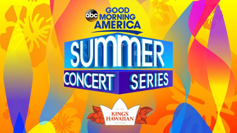 "Good Morning America's ""2018 Summer Concert Series Block Party"" Sweepstakes is sponsored by King's Hawaiian."