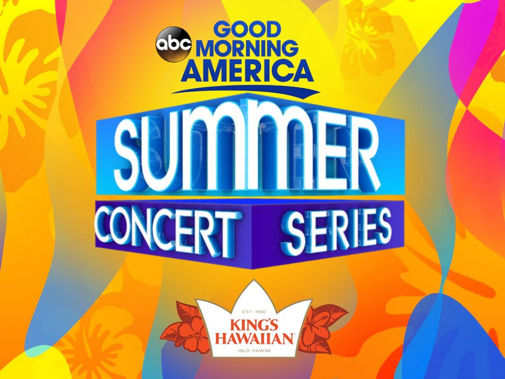 PHOTO: Good Morning Americas 2018 Summer Concert Series Block Party Sweepstakes is sponsored by Kings Hawaiian.