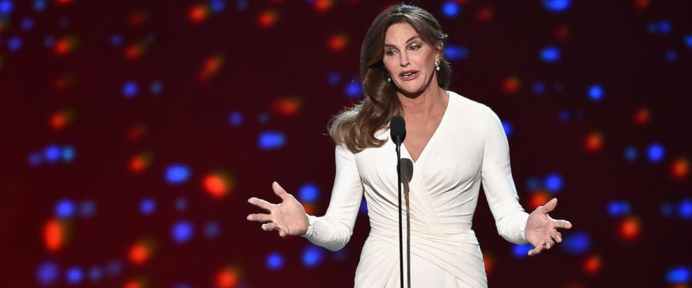PHOTO: Caitlyn Jenner accepts the Arthur Ashe Courage Award onstage during The 2015 ESPYS at Microsoft Theater on July 15, 2015 in Los Angeles, Calif.