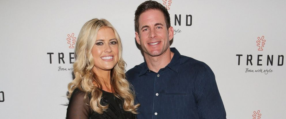 "PHOTO: Christina El Moussa and Tarek El Moussa of HGTVs ""Flip or Flop,"" March 12, 2016, in Miami Beach, Florida."