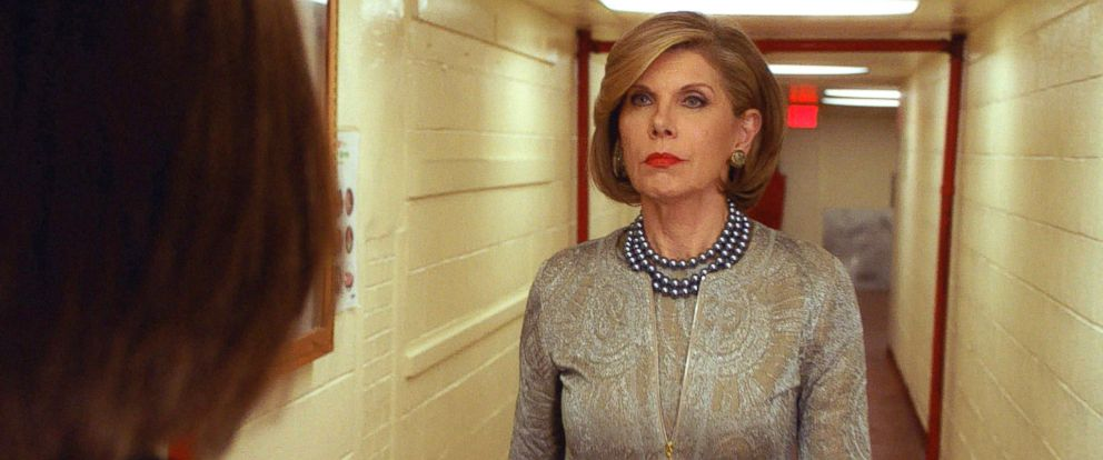 """PHOTO: Christine Baranski on """"The Good Wife,"""" reaches its dramatic conclusion on the series finale, May 8, 2016, on the CBS Television Network."""