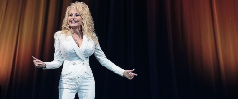 PHOTO: Singer-songwriter Dolly Parton performs in concert during her Pure & Simple Tour at the Frank Erwin Center, Dec. 6, 2016, in Austin, Texas.