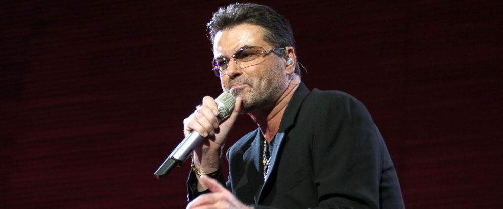 PHOTO: Singer George Michael performs on stage at the Olympico Stadium, on July 21, 2007, in Rome.