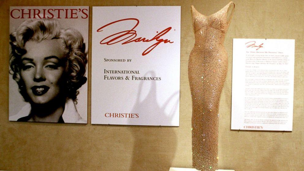 Marilyn Monroe S Happy Birthday Mr President Dress Sold To Ripley S For 4 8 Million Abc News