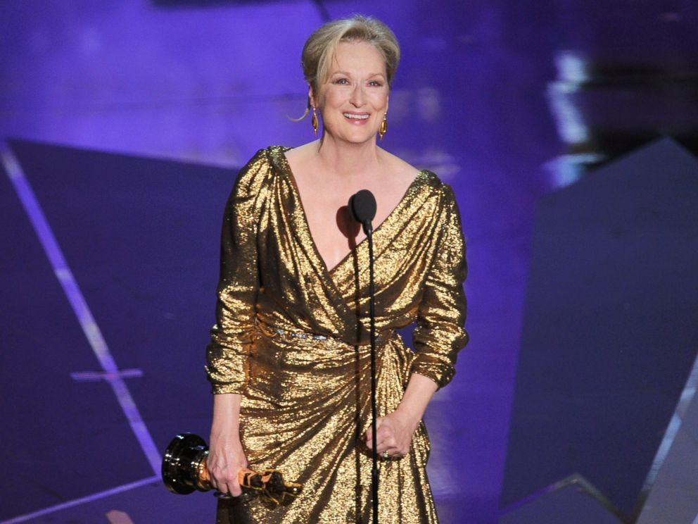 PHOTO: Actress Meryl Streep accepts the Best Actress Award for The Iron Lady onstage during the 84th Annual Academy Awards held at the Hollywood & Highland Center, on Feb. 26, 2012, in Hollywood, California.