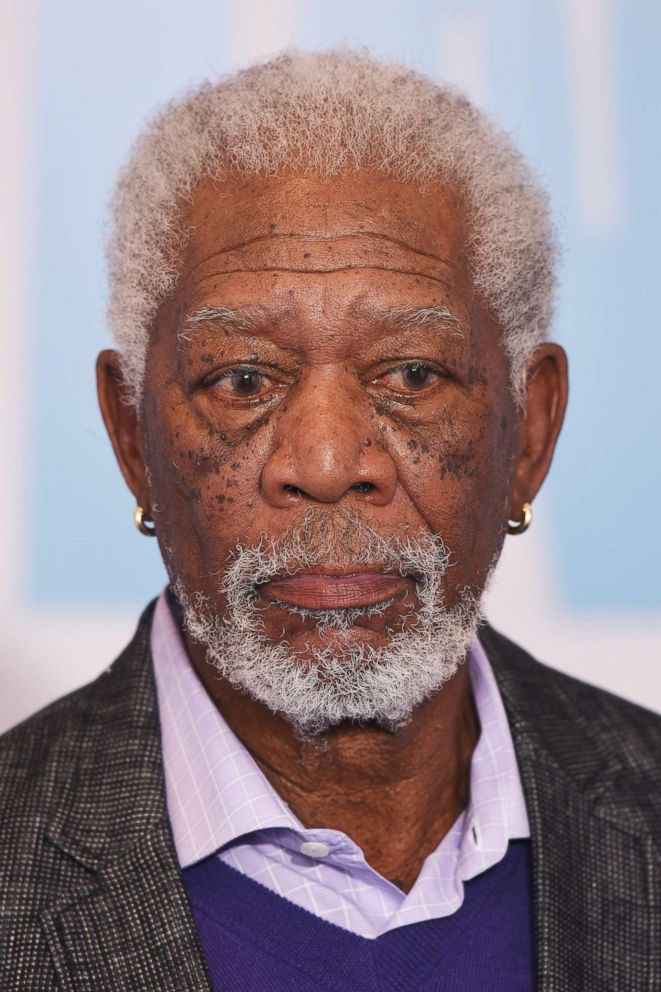 PHOTO: Actor Morgan Freeman attends the Going In Style special screening, April 5, 2017, in London.
