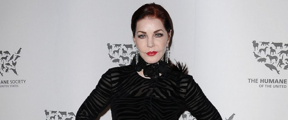 "PHOTO: Actress Priscilla Presley attends The Humane Society of The United States ""To The Rescue"" gala at Paramount Studios, on May 7, 2016, in Hollywood, Calif."