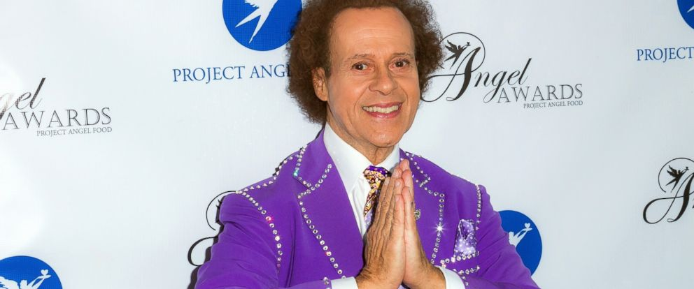 PHOTO: TV personality Richard Simmons arrives at Project Angel Foods Annual Angel Awards 2013 honoring Jane Lynch at Project Angel Food, on August 10, 2013, in Los Angeles.