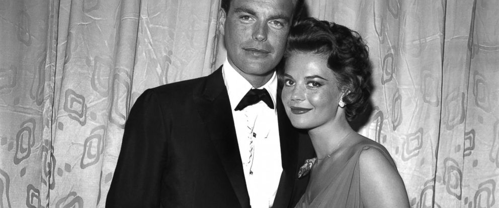 PHOTO: Actors Natalie Wood and Robert Wagner attend an event, in 1958, in Los Angeles.