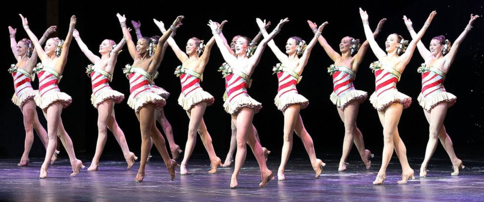 """PHOTO: The Rockettes perform on stage during the """"Christmas Spectacular Starring The Radio City Rockettes"""" Opening Night at Radio City Music Hall, on Nov. 15, 2016, in New York City."""