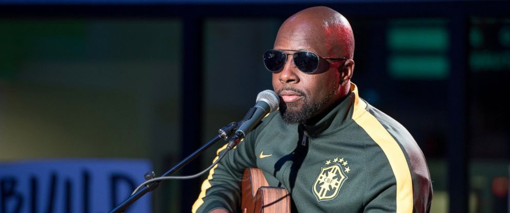 """PHOTO: Musician Wyclef Jean visits Build Series to discuss his new EP """"Jouvert"""" at Build Studio on Feb. 6, 2017 in New York."""