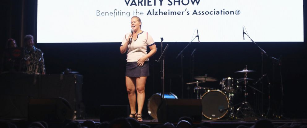 PHOTO: Amy Schumer performs in New York City, June 8, 2017.
