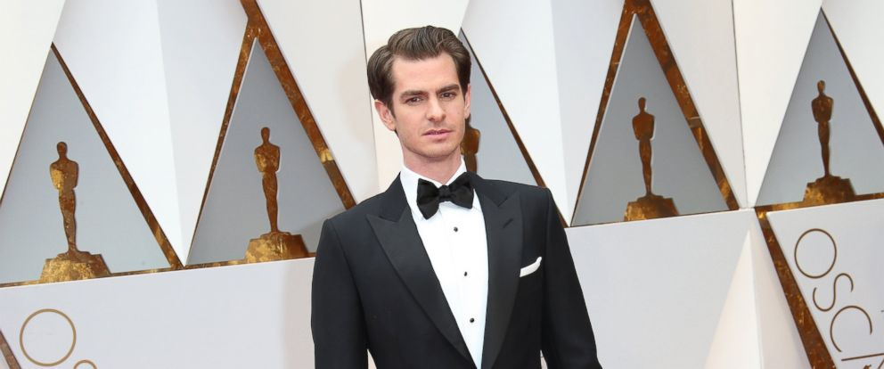PHOTO: Actor Andrew Garfield arrives at the 89th Annual Academy Awards at Hollywood & Highland Center, Feb. 26, 2017, in Hollywood, Calif.
