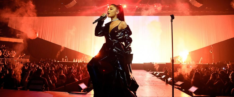 """PHOTO: Ariana Grande performs during the """"Dangerous Woman"""" Tour Opener on Feb. 3, 2017, in Phoenix, Ariz."""