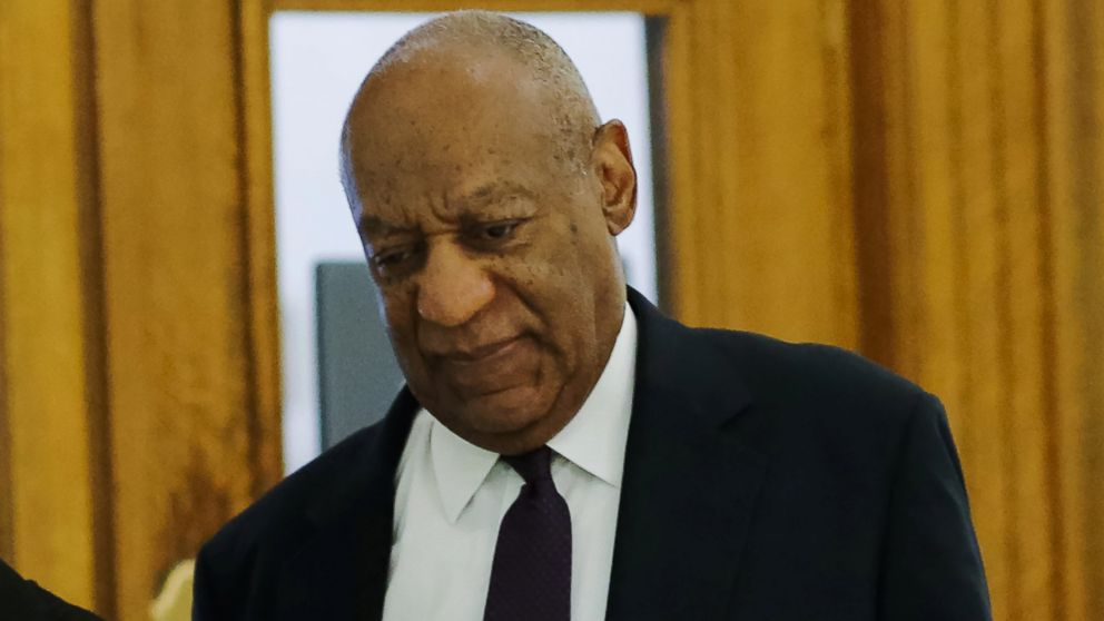 Bill Cosby arrives for his trial on sexual assault charges at the Montgomery County Courthouse, June 6, 2017, in Norristown, Pa.