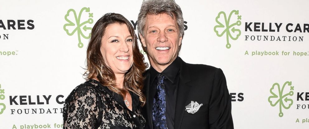 PHOTO: Jon Bon Jovi and wife Dorothea Hurley attend the Kelly Cares Foundation 2016 Irish Eyes Gala at The Pierre Hotel, March 14, 2016, in New York City.