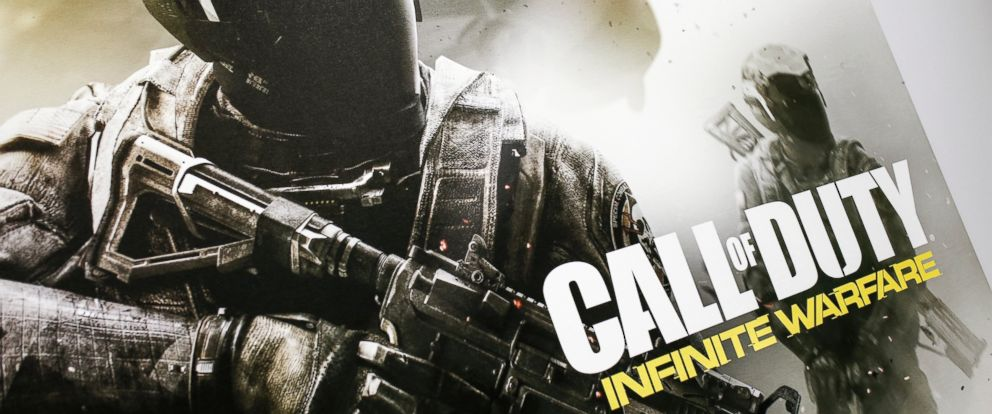 """PHOTO: A general view of """"Call Of Duty: Infinite Warfare"""" at Los Angeles Convention Center, June 15, 2016."""
