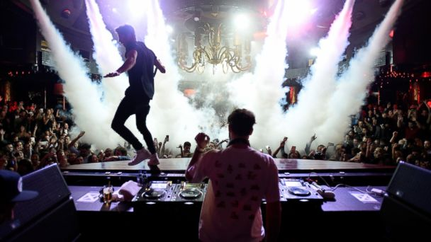 PHOTO: The Chainsmokers perform at XS Nightclub, Jan. 6, 2017, in Las Vegas.