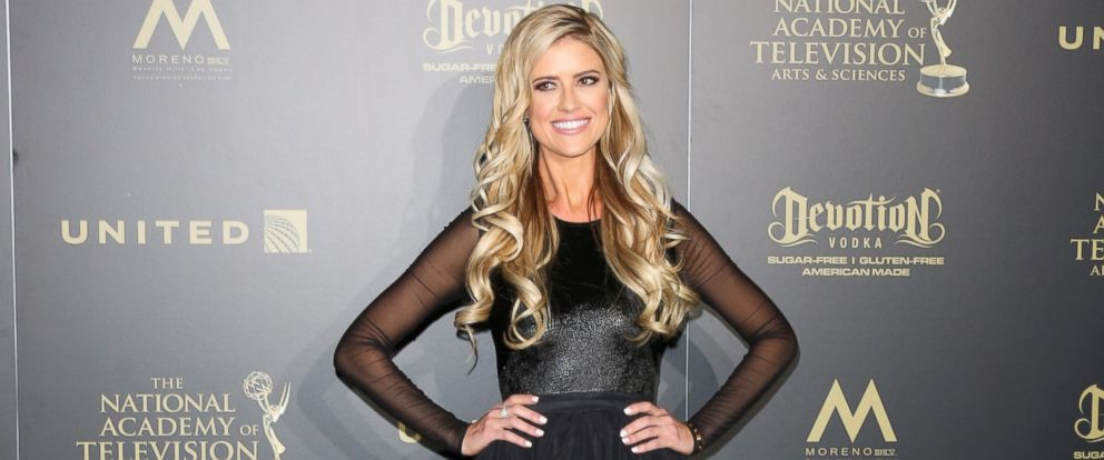PHOTO: Christina El Moussa attends the press room for the 44th annual Daytime Emmy Awards at Pasadena Civic Auditorium, April 30, 2017 in Pasadena, Calif.