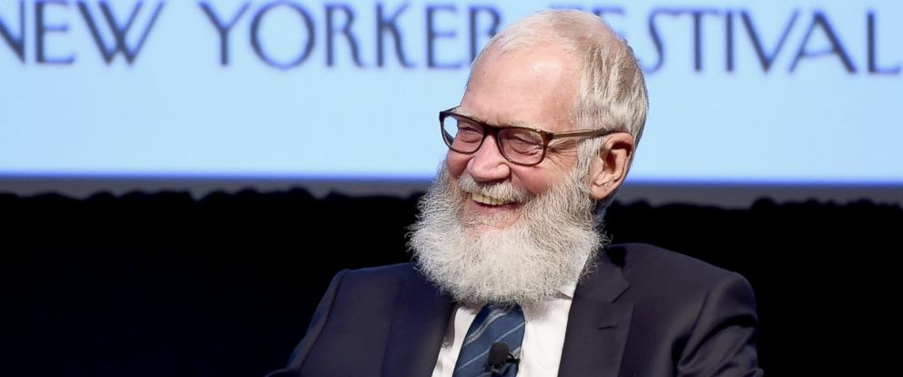 PHOTO: David Letterman speaks onstage during The New Yorker Festival 2016 at the SVA Theatre, Oct. 7, 2016, in New York City.