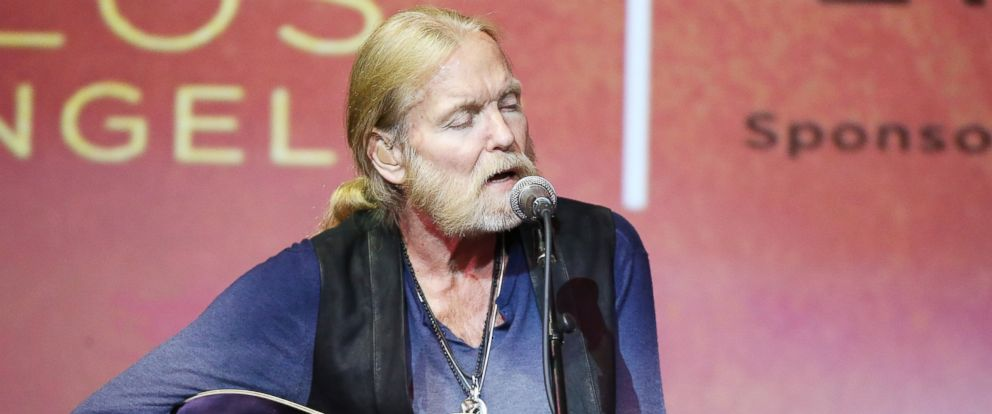 PHOTO: Gregg Allman performs onstage at the GRAMMY Foundation host celebrating Gregg Allman: Storytelling and performances held at Skirball Cultural Center, Sept.24, 2015 in Los Angeles