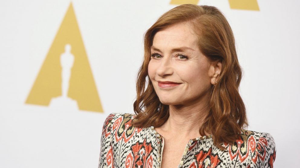 Isabelle Huppert attends the 89th Annual Academy Awards Nominee Luncheon at The Beverly Hilton Hotel, Feb. 6, 2017, in Beverly Hills, California.