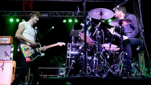 PHOTO: Brian King and David Prouse of Japandroids perform at the Treasure Island Music Festival, Oct. 20, 2013, in San Francisco, California.